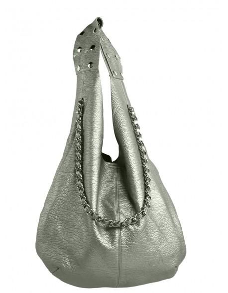 Duża torba worek z ćwiekami na ramieniu