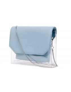 Mała torebka transparentna