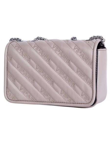 Elegancka torebka kuferek z haftowanymi napisami