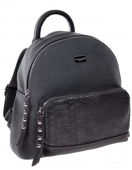 Niewielki plecak z dżatami na kieszeni