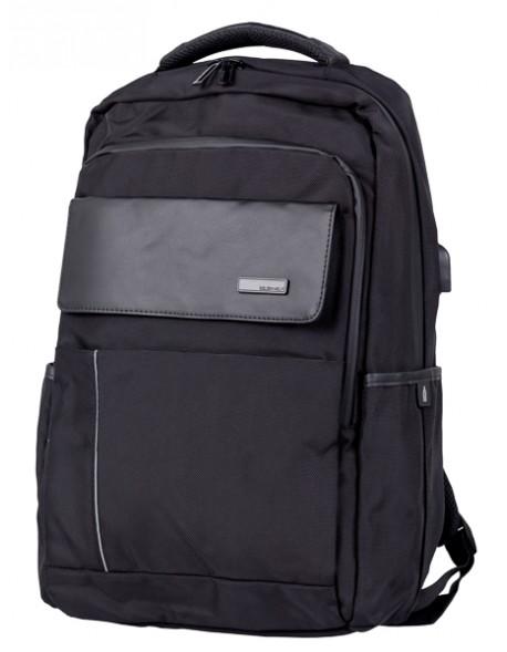 Biurowy plecak na laptop dla podrużujących
