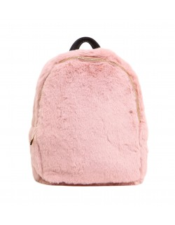 "Plecak Vivi Paris mini ze sztucznego futra ""faux fur"""