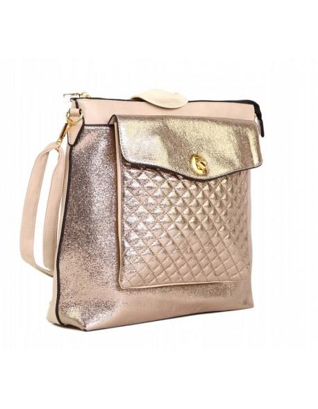 Plecak Torebka z pikowana kieszenią