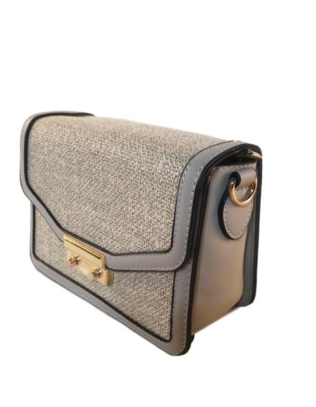 Mały kuferek z płótnem Moda listonoszka