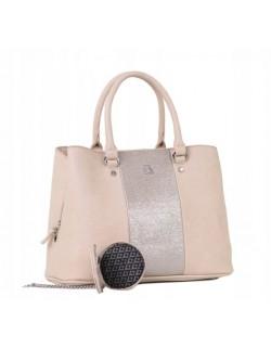 Lulu torebka damska z zawieszką shopperka