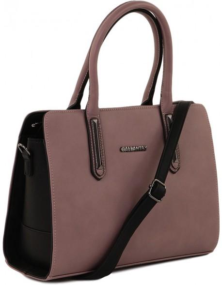 Elegancki kuferek duża torba damska