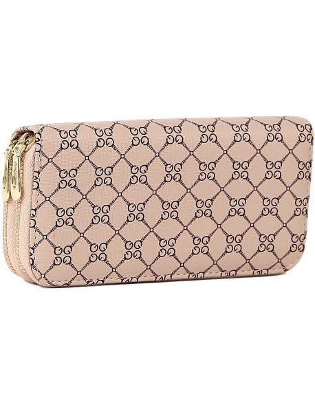 Chanelka portfel w klasycznym stylu piórnikowym